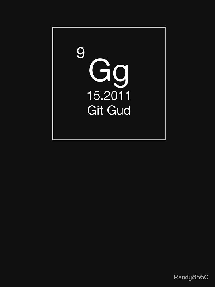 Gg - Git Gud (White) by Randy8560