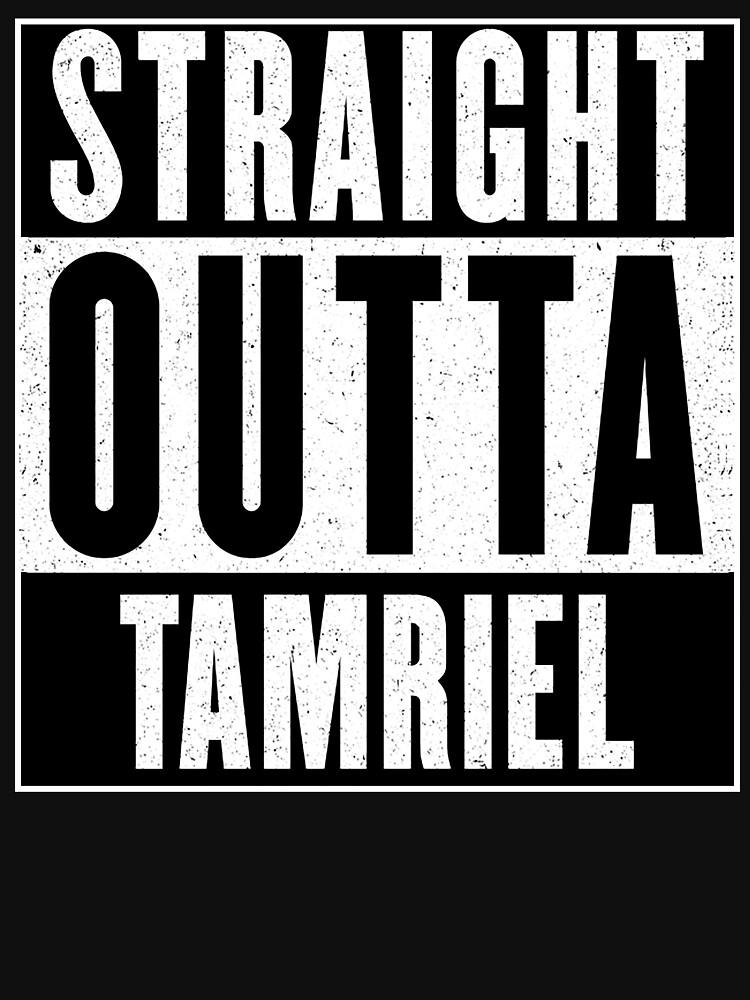 Straight Outta Tamriel by GHDParody