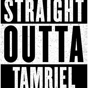 Straight Outta Tamriel by GHDParody