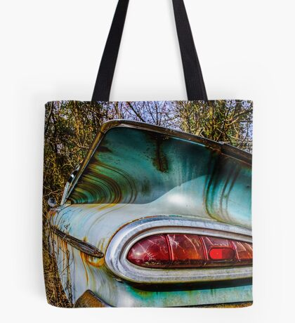 1959 Chevrolet Bel Air Classic Automobile Color Photo - Cars that I Used to Know Series Tote Bag