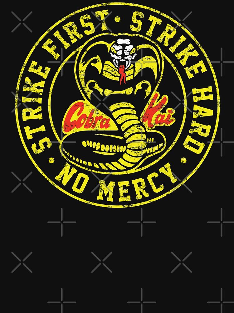 Cobra Kai 3 - (Distressed Dark t-shirt only) by Ottakars