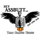 Castiel and Team Orange Undies by Rachael Burriss
