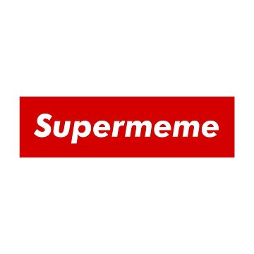 """Supreme Box Logo - """"Supermeme"""" by TZMNUK"""