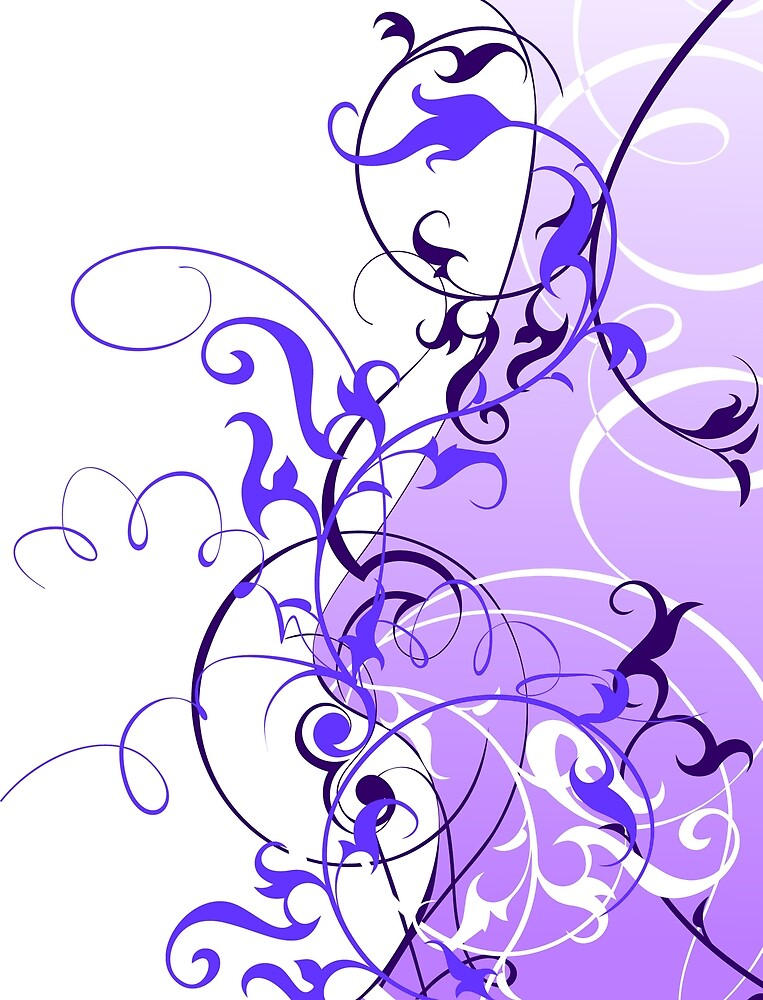 Violet Abstract by diram