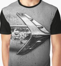 1960s Chevrolet Impala Classic Automobile Black and White Photo - Cars that I Used to Know Series  Graphic T-Shirt