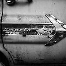 1960s Chevrolet Impala Classic Automobile Black and White Photo - Cars that I Used to Know Series  by Deana Greenfield
