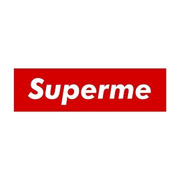 """Supreme Box Logo - """"Superme"""" by TZMNUK"""