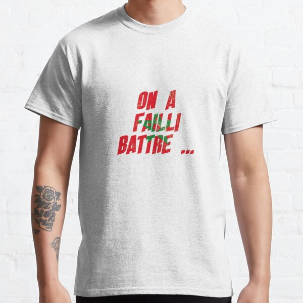 On a failli battre ... l'Iran T-shirt classique
