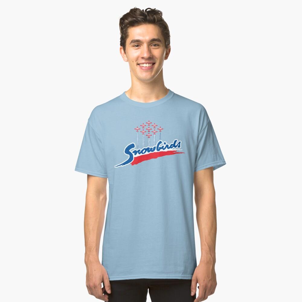 Snowbirds Wordmark Classic T-Shirt Front