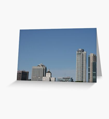 Beer City's Buildings Greeting Card