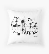 Joan Miro The Family 1924 Artwork T Shirt, Art Reproduction Throw Pillow