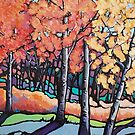 FALL COLOURS CARD by Alison Newth