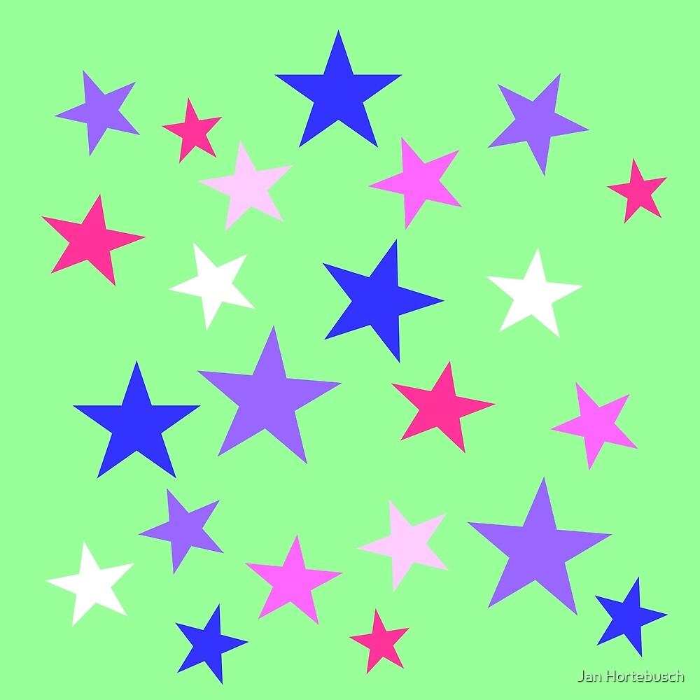 Stars Green by Jan Hortebusch