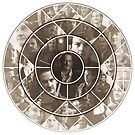 Gabriel Collage 2 (Monochrome Edition) by violue