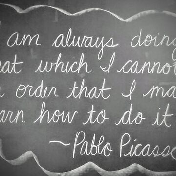 Pablo Picasso Quote by brusling
