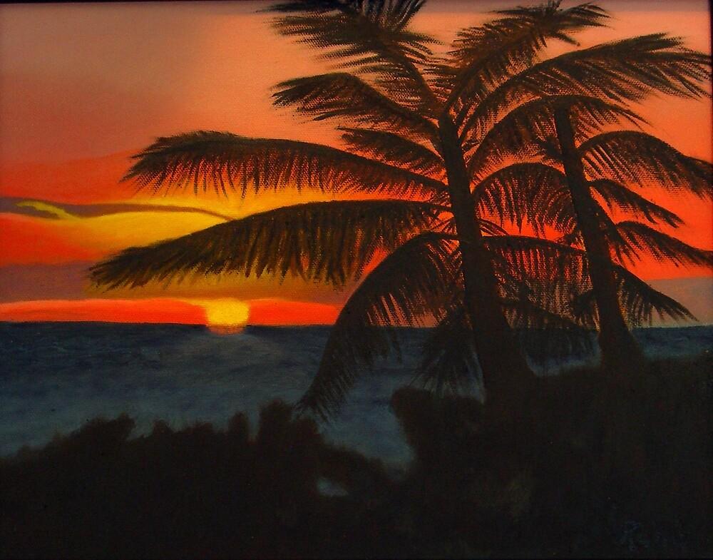 Evening Silhouette by Irene Bernhardt