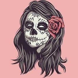 Skull Girl by theClamor
