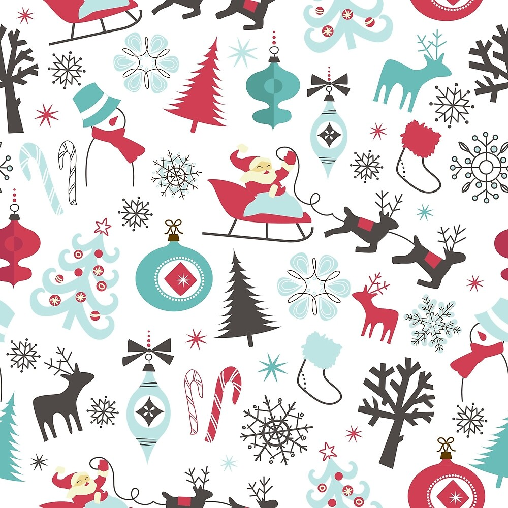 Christmas patterns by dessinart