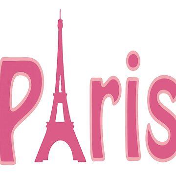 PARIS PINK Pop Art by BruceALMIGHTY