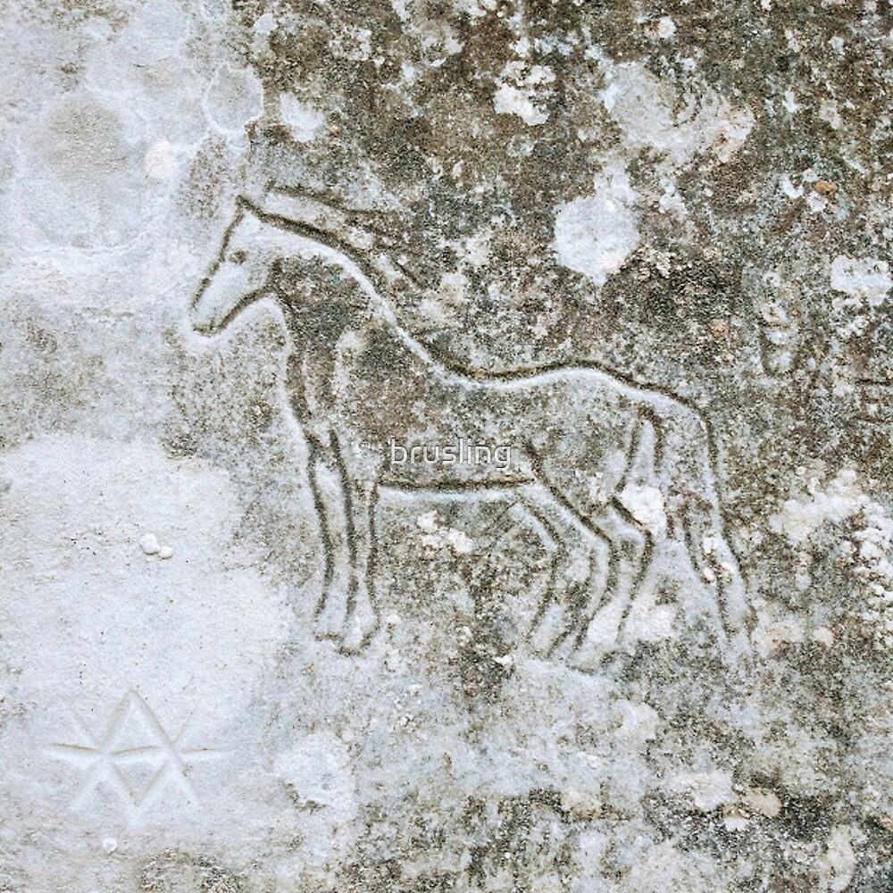Little Horse Glyph by brusling