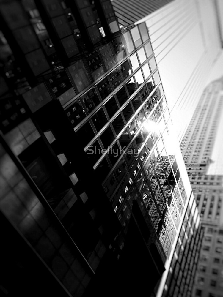 reflections near the chrysler building by ShellyKay