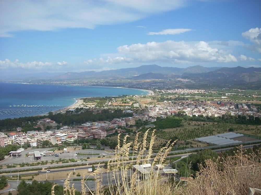 Sicily view by LadiesInDark