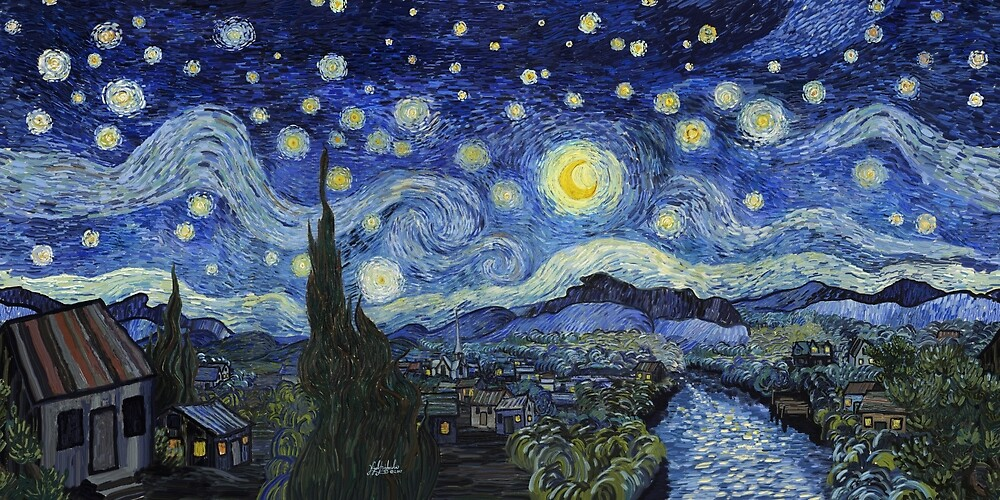 The Starry Night Panorama by StarryNM