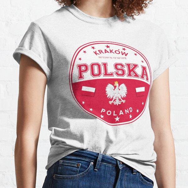 Poland, Krakow, Polska, Polish city, Poland sticker, circle Classic T-Shirt