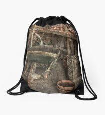 The Garden Shed Drawstring Bag