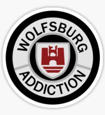 Wolfsburg Addiction   Sticker