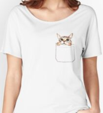 Pocket cat Women's Relaxed Fit T-Shirt