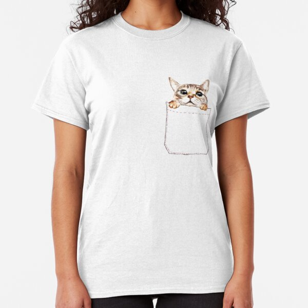 Pocket cat Classic T-Shirt