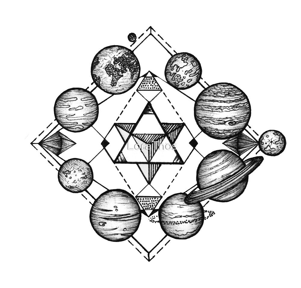 Solar System by LoraThos