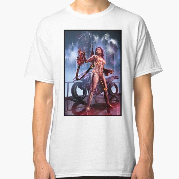 Cyberpunk Painting 092 Classic T-Shirt