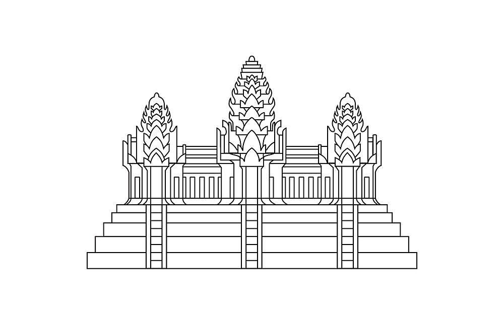 Angkor Wat by VinCollector