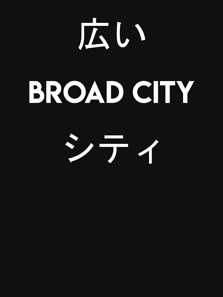 Broad City Japanese by TommaLlama