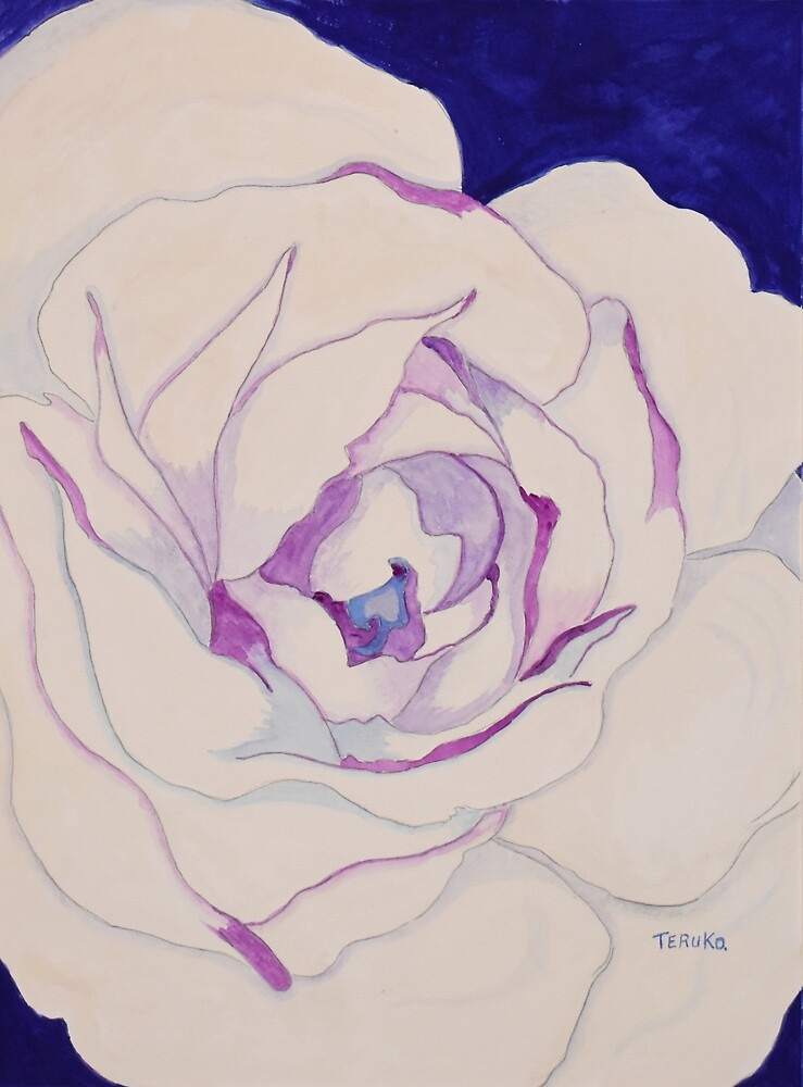 Purity (White Rose) by BlueCanna