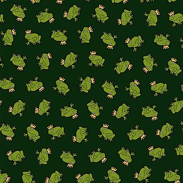 Frog Prince Pattern by evannave