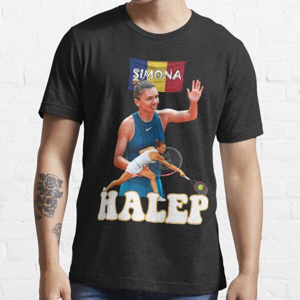 Simona Halep Romania Tennis Tshirt Essential T-Shirt