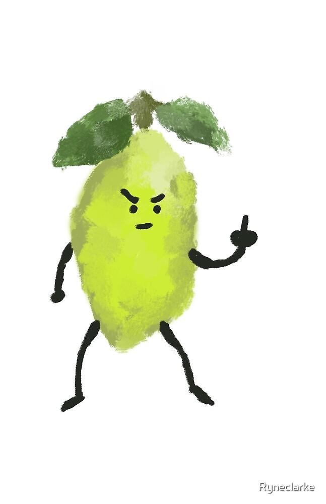 Sour Lemon by Ryneclarke