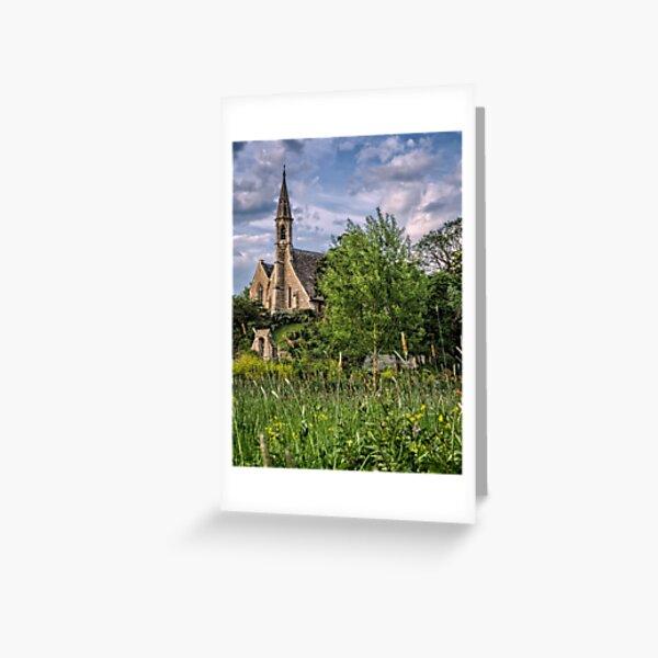 The Church at Clifton Hampden Greeting Card