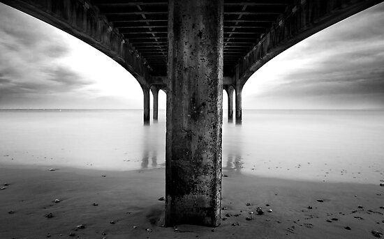 below the pier by igotmeacanon