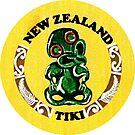 New Zealand Tiki Vintage Travel Decal by hilda74