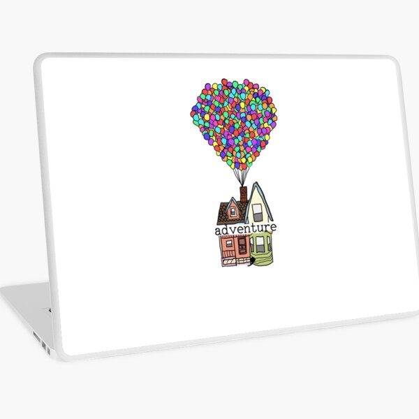Adventure Is Out There Laptop Skin