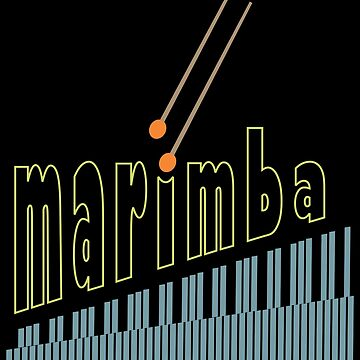 Marimba Percussion Instrument by TLC2Designs