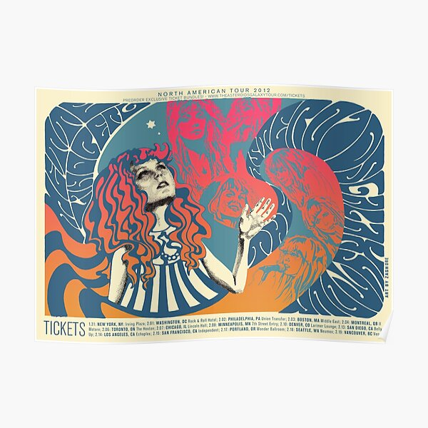 The Asteroids Galaxy Tour - psychedelic Poster