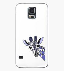 Giraffe Blues Case/Skin for Samsung Galaxy