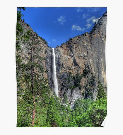 Bridalveil Fall  Poster