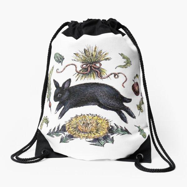A Little Familiar  Drawstring Bag