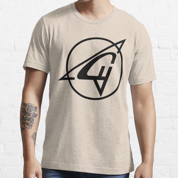Sukhoi Aircraft Logo (Black) Essential T-Shirt
